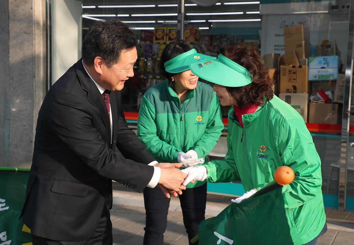 금광1동 새마을 거리질서캠페인 격려 및 현장 순찰3