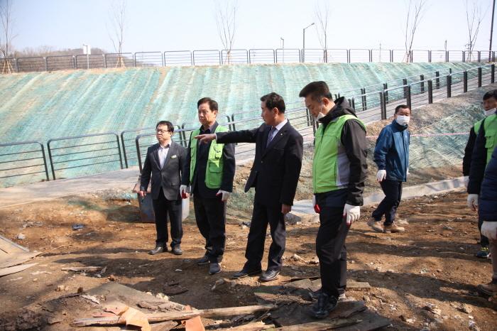불법건축물 철거 현장 점검